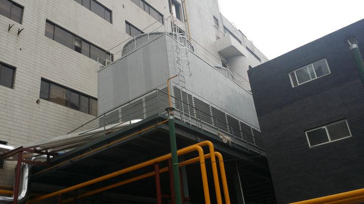 方形逆流冷却塔
