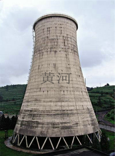 工业双曲线冷却塔
