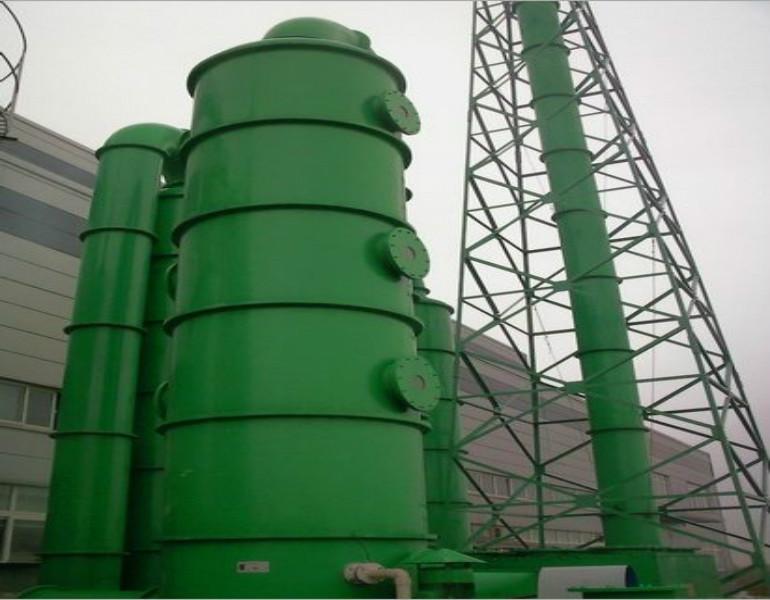 玻璃钢脱硫塔生产