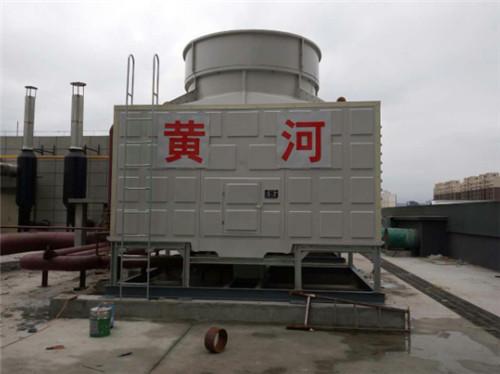 陜西黃河空調冷卻設備有限公司講解冷卻塔的工作原理,組成選型以及適用范圍。