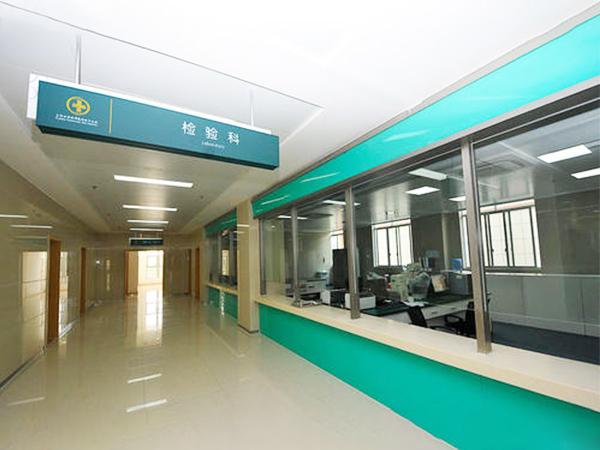 四川医院标识牌制作成功案例