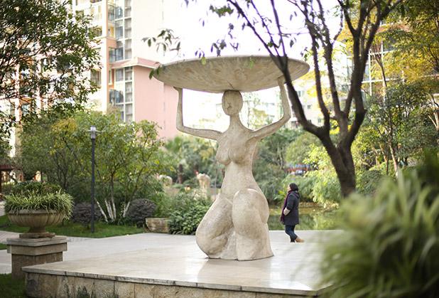 四川情景雕塑安装