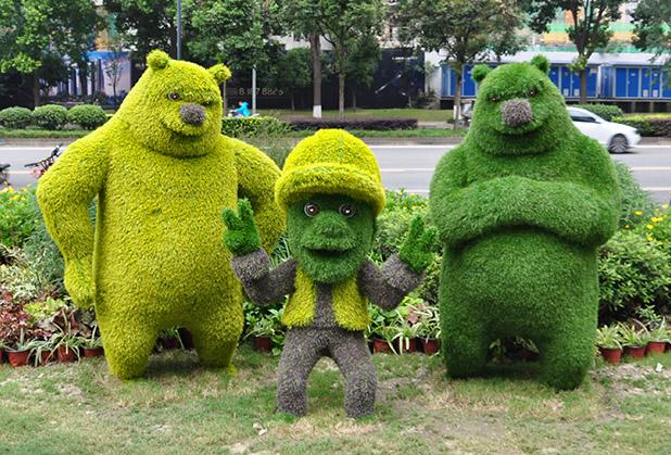 四川乐园主题雕塑