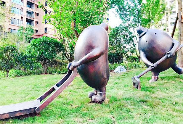 四川雕塑小品设计