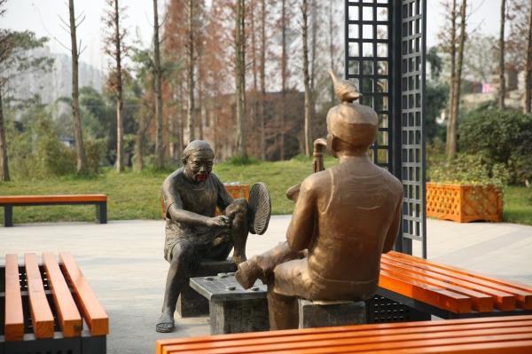 情景人物雕塑