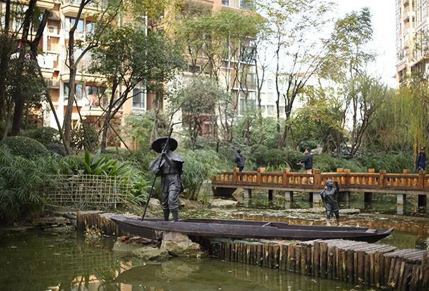 磊森完美点缀,四川景观雕塑作品欣赏