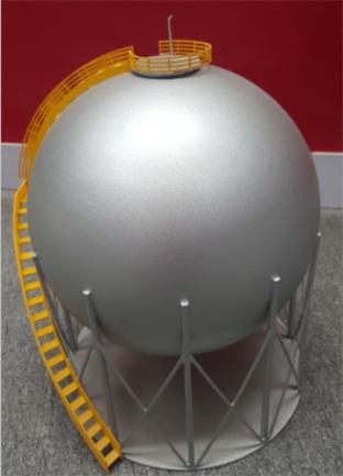 四川不锈钢板工程案例:化工球罐