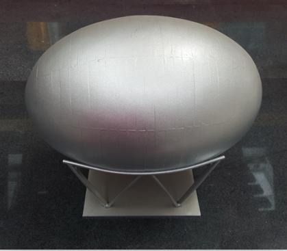 成都不锈钢卷工程案例:椭圆球罐