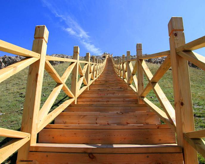 防腐木棧道