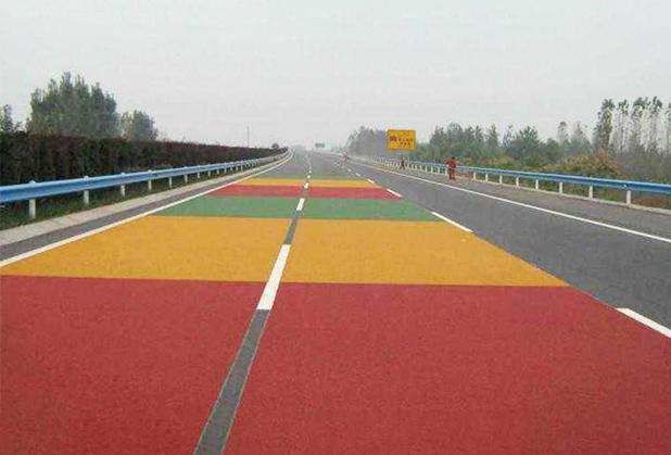成都彩色防滑路面