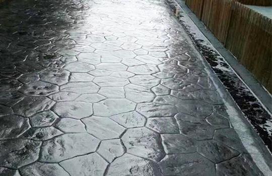 成都压印混凝土路面工程成功案例