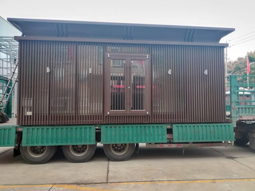 榆林曹家滩煤矿5台移动厕所