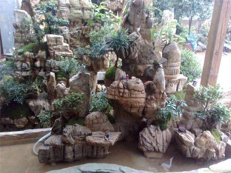 怎样制作假山流水瀑布喷泉呢?你还不来了解一下吗?乾通精工景观邀您了解