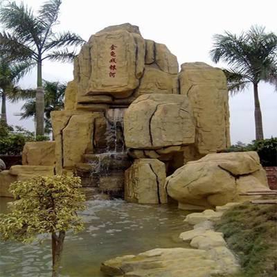 银川假山喷泉厂家邀您了解假山流水和假山喷泉的功用,你还不来看看吗?