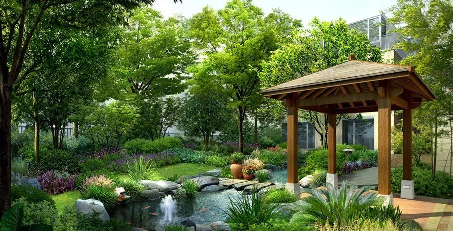 宁夏园林景观树木布置时需要注意哪些?宁夏乾通精工景观邀您了解,快来看