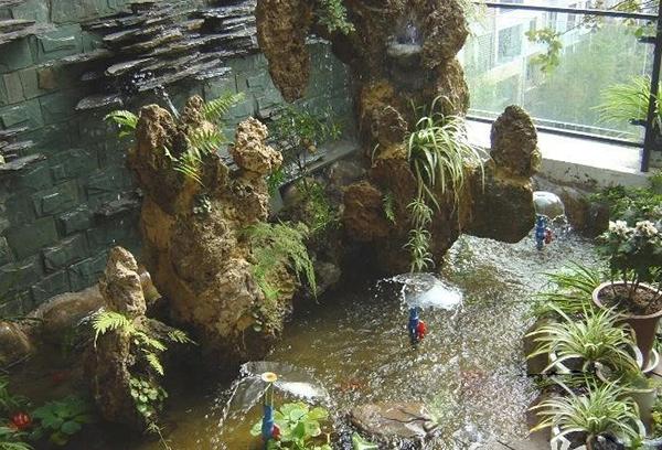 关于银川假山喷泉你了解多少?乾通精工景观邀您了解假山制作喷泉水景知识介绍