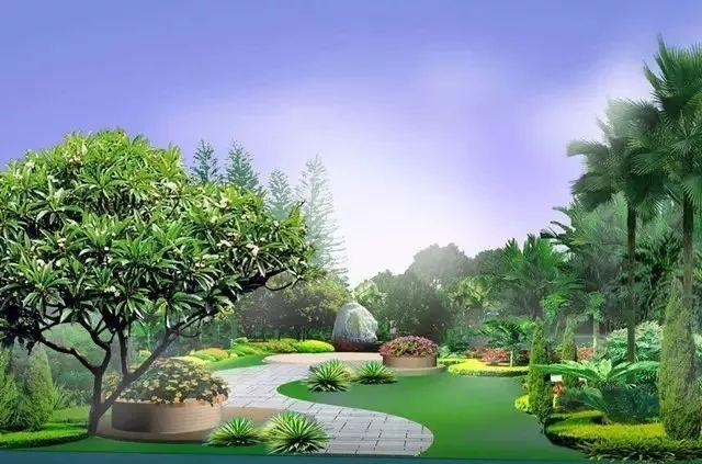 你知道宁夏园林景观树木布置时需要注意哪些?乾通精工景观邀您了解,快来看看吧