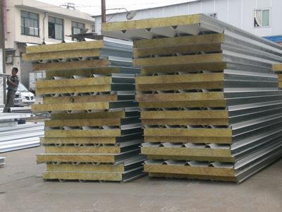 岩棉夹芯板生产