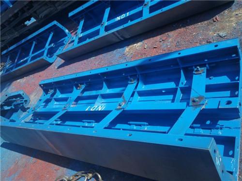 陕西丰源钢模制品有限公司抽拉式箱梁内模案例