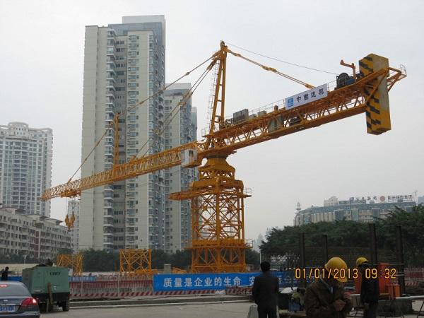 厦门110米大臂超大型塔机
