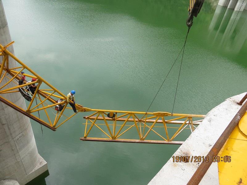 云阳盖下坝D1500-63拆卸