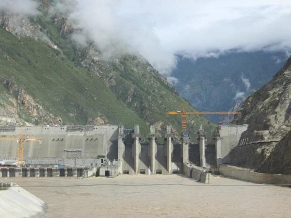 西藏藏木电站D1100