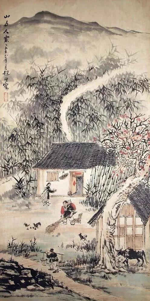 陕西赵望云字画