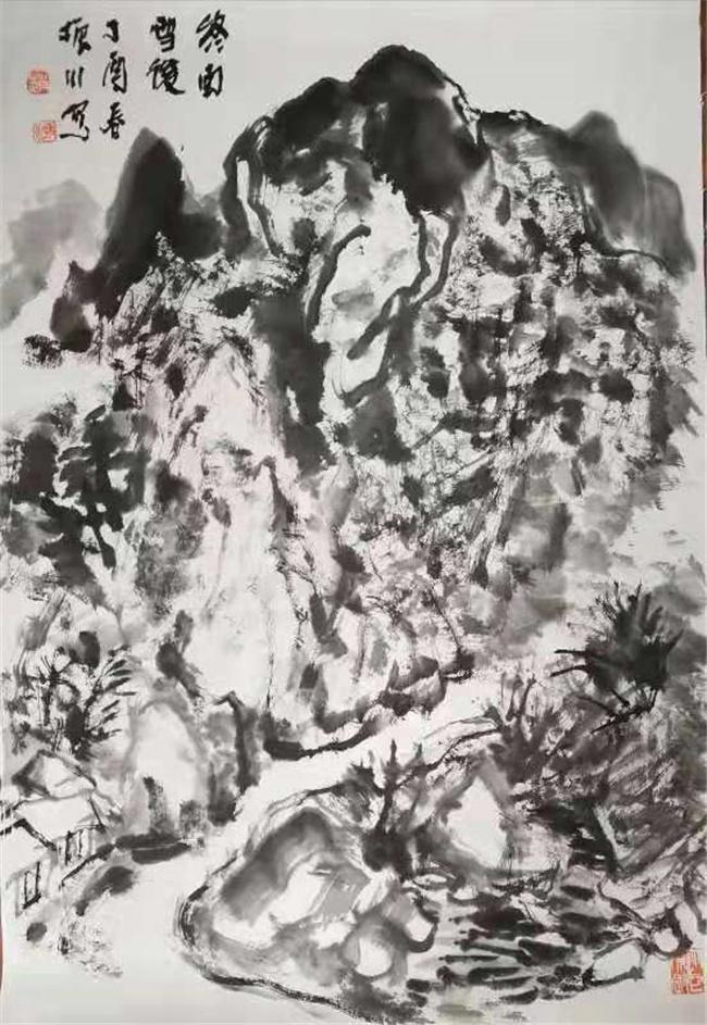 陕西何海霞字画