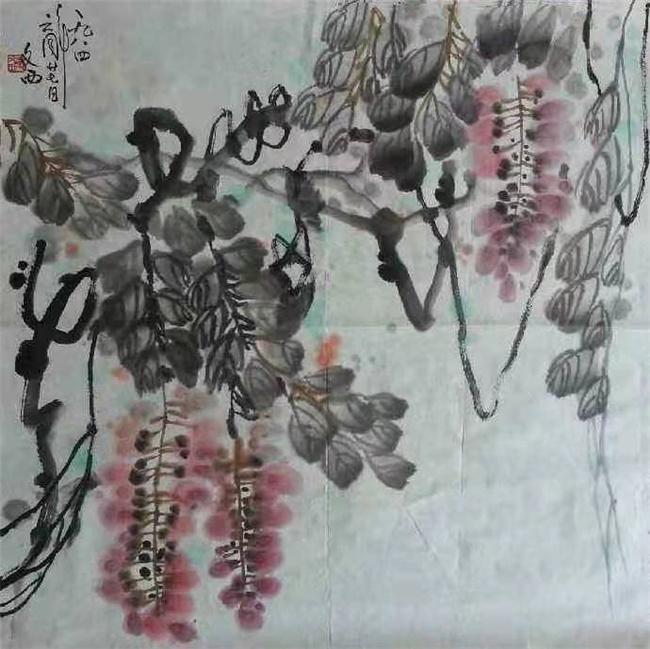 陕西刘文西字画