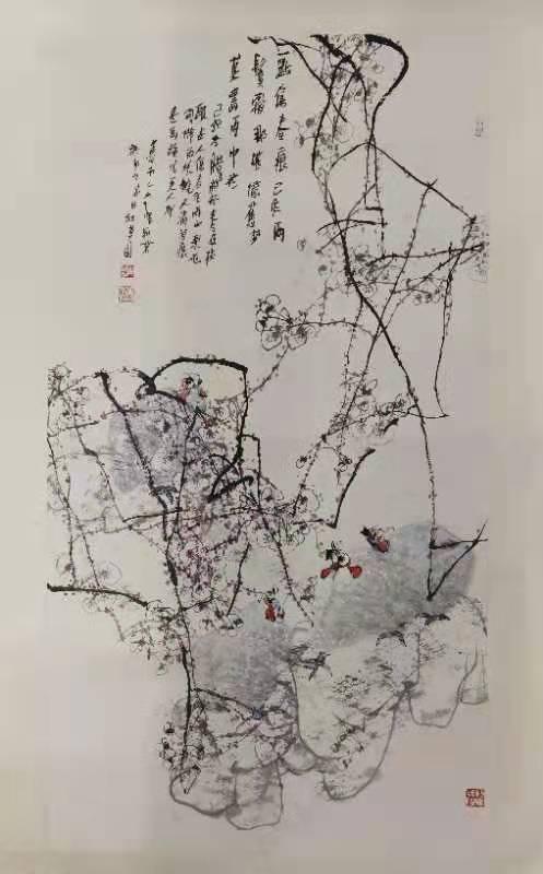 西安江文湛字画