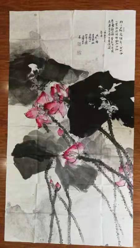 江文湛字画