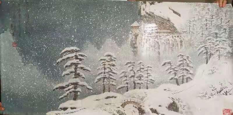 陕西罗国士字画
