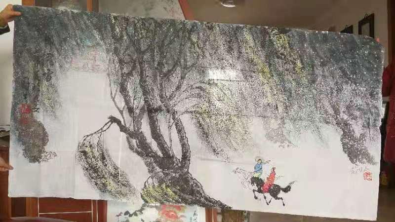 西安罗国士字画