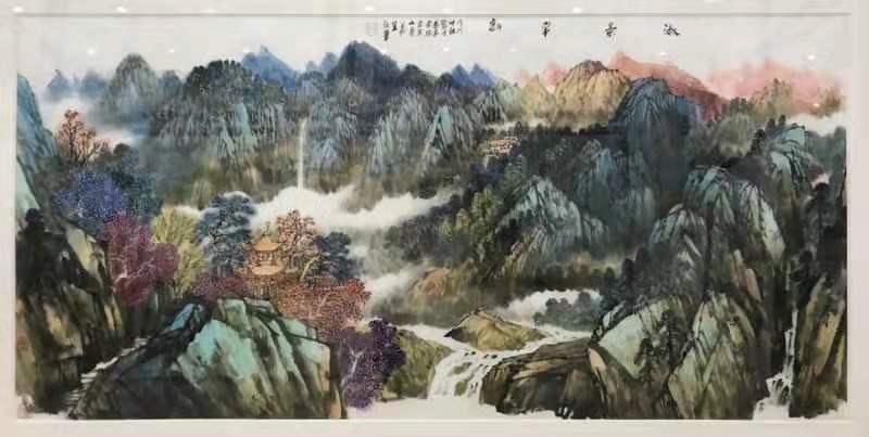 西安徐义生字画出售