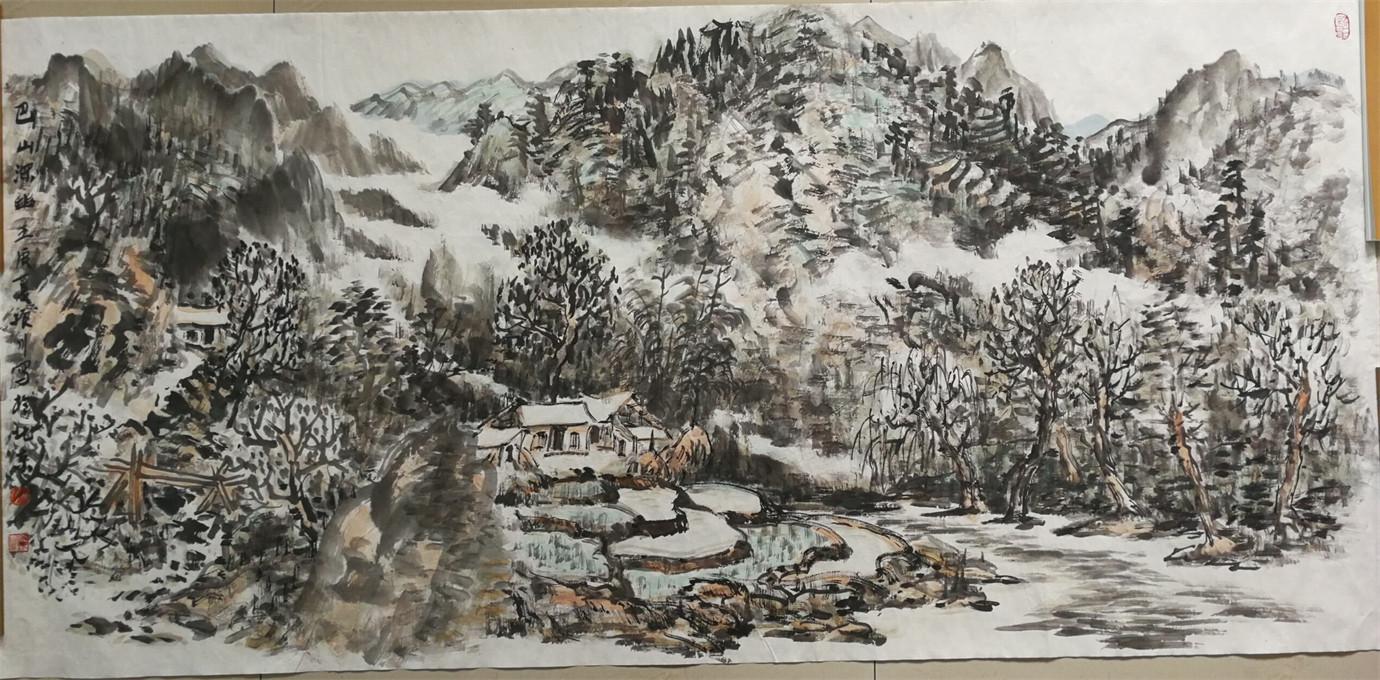 赵振川字画