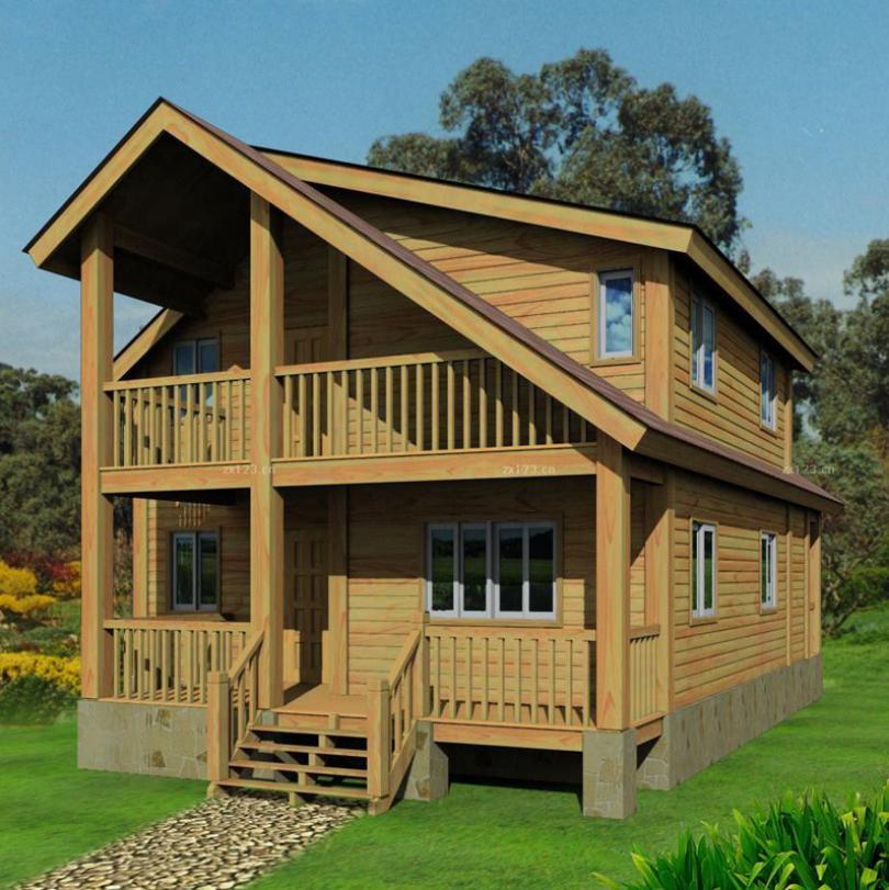 在农村建木屋别墅有什么好处?