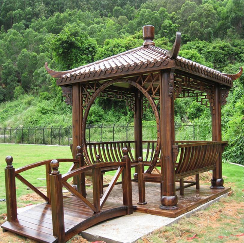 构建陕西防腐木凉亭,需要注意哪些问题?