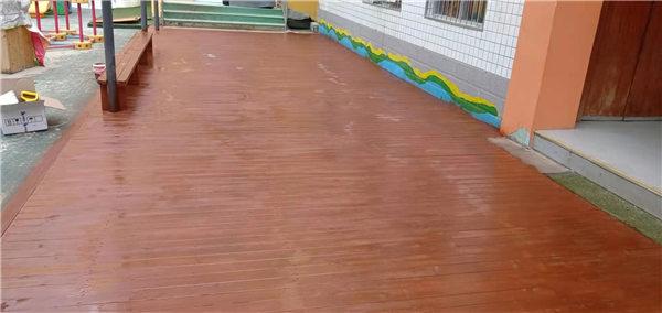 防腐木地板加工