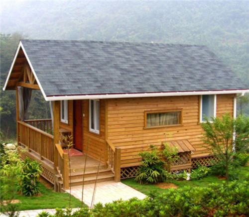 防腐木屋别墅封顶需要满足哪些条件?