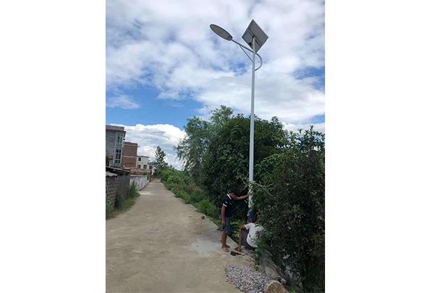 成都太阳能路灯施工