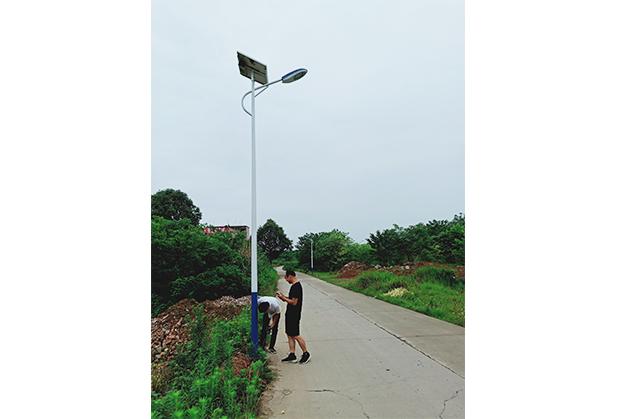 成都太阳能路灯安装
