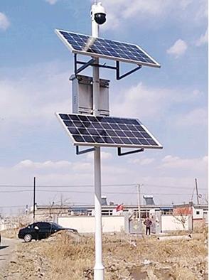 成都路灯厂-太阳能监控系统