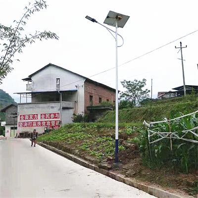 南充太阳能路灯安装