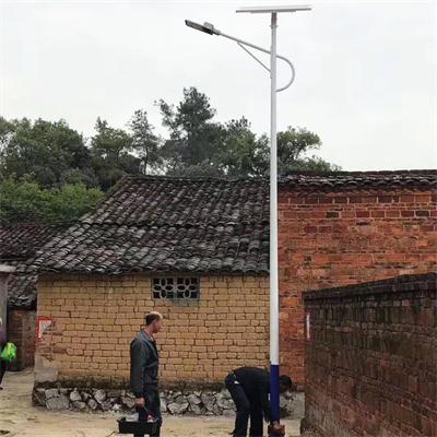 四川太阳能路灯安装案例
