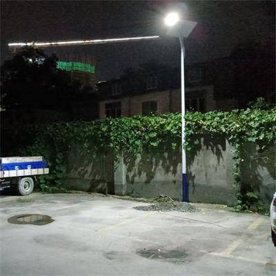 简阳太阳能路灯安装案例