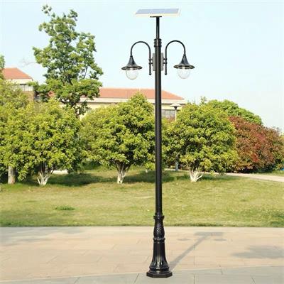 欧式庭院灯太阳能新款