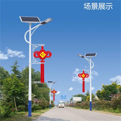 特色中国结太阳能路灯