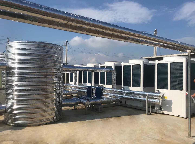 德康集團英德一 、二期養雞場采暖降溫工程
