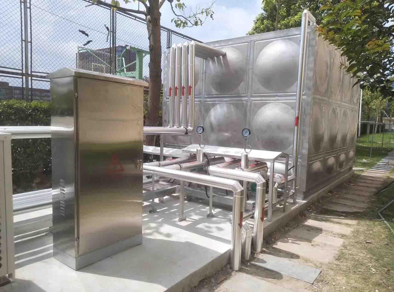 安岳溫氏豬場空氣源淋浴熱水工程