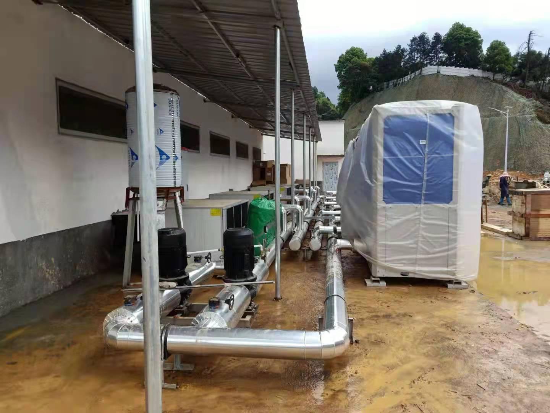 江西泰和公猪站中央空调降温工程